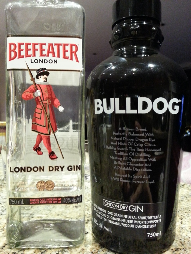london dry gin round 1 – beefeater vs bulldog | justintoxicated.
