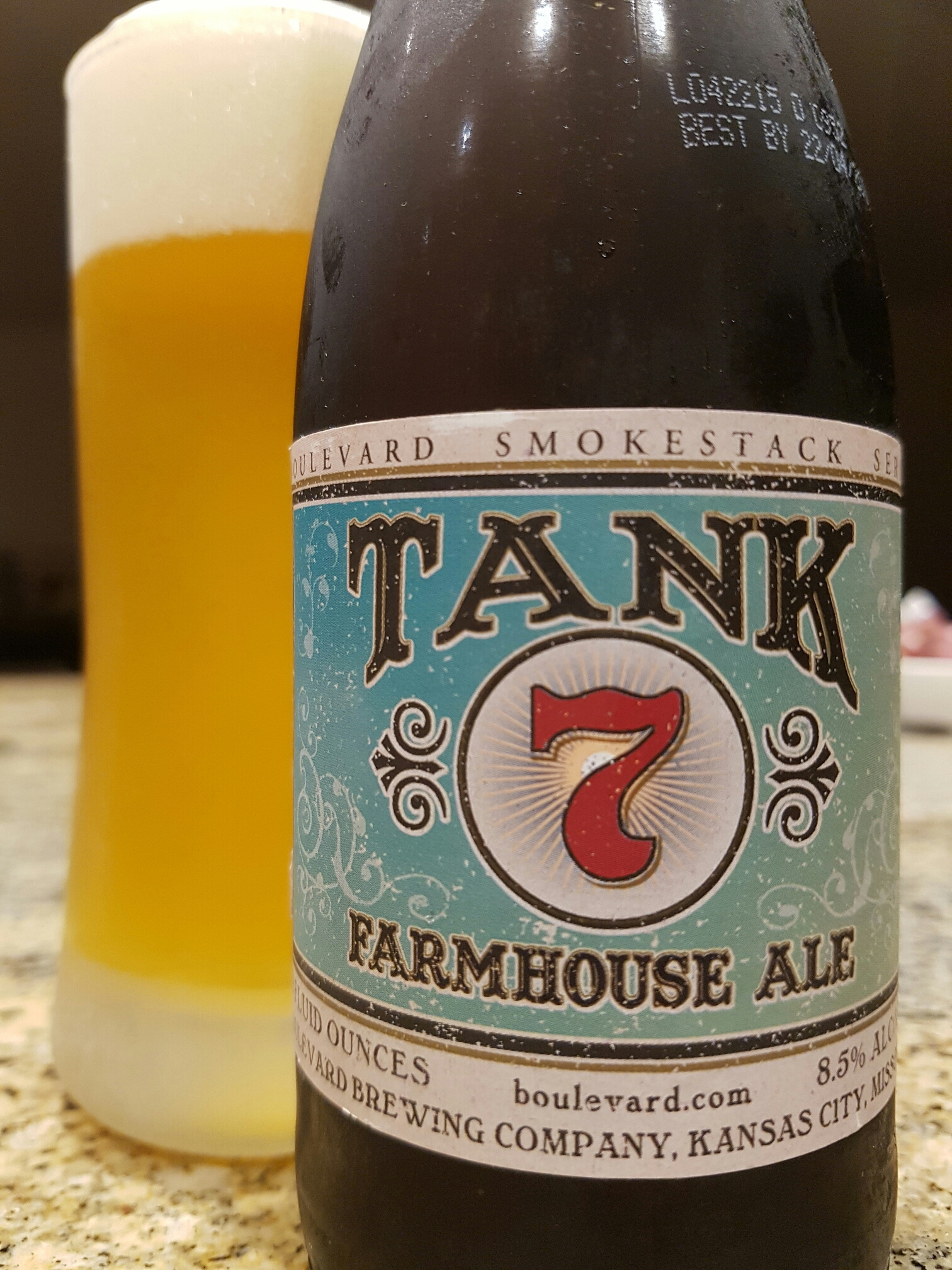 Boulevard Smokestack Series Tank 7 Farmhouse Ale – Boulevard Brewing Co Ka